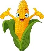 corn character drawing